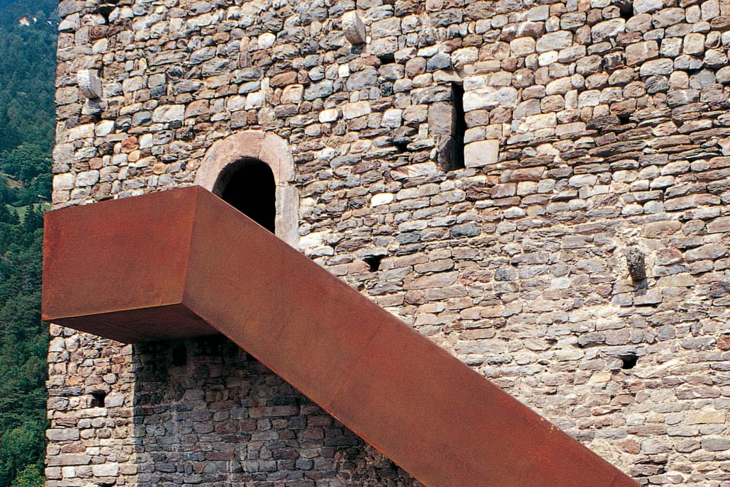 Turm der Erinnerungen im Bergfried